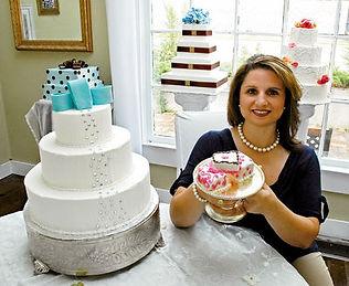 Atlanta wedding cake designer Jennifer Punch