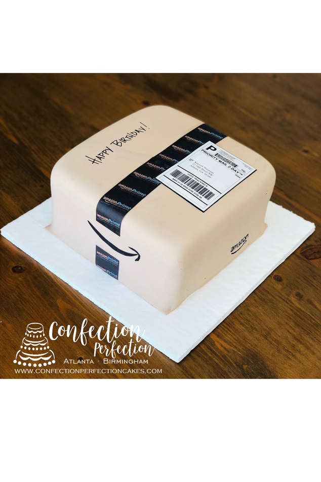 Amazon Package/Box Cake FB-160