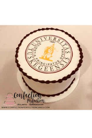 College Graduation Logo Cake GR-130