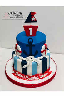 Nautical Themed Cake  BB-116
