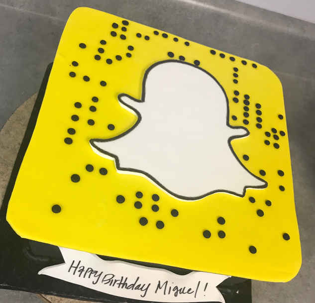 Snapchat Cake  CBG-148