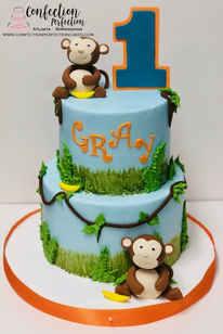 Just Monkey-ing Around First Birthday Ca