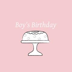 Boy's Birthday - Children