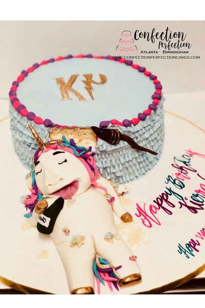 Unicorn Harry Potter Cake CBG-201
