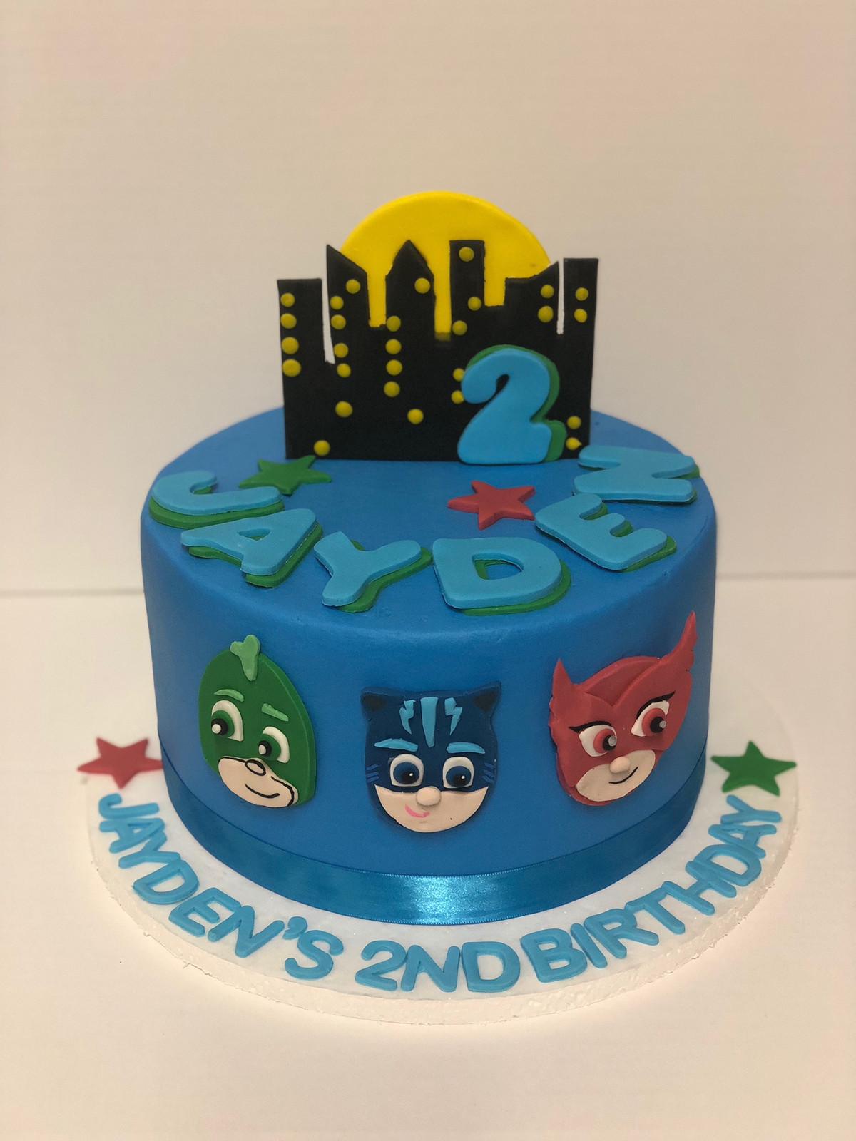 PJ Masks Birthday Cake CBB 146