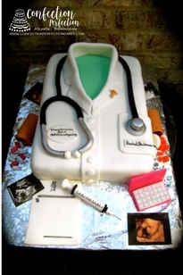 OB/GYN Doctor Cake