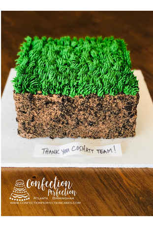 Landscaping Patch of Grass Cake CC-115