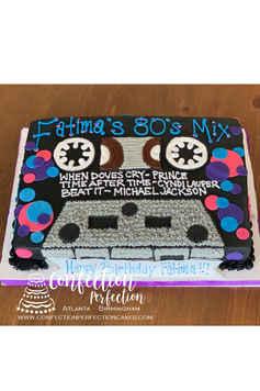 80's Cassette Tape Cake SO-004