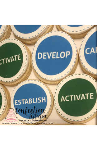Design Your Own Logo Cookies HOL-126