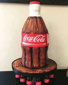 Coca-Cola 3D Bottle Cake  CC-110