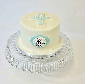Baptism or Confirmation Cake BA-103