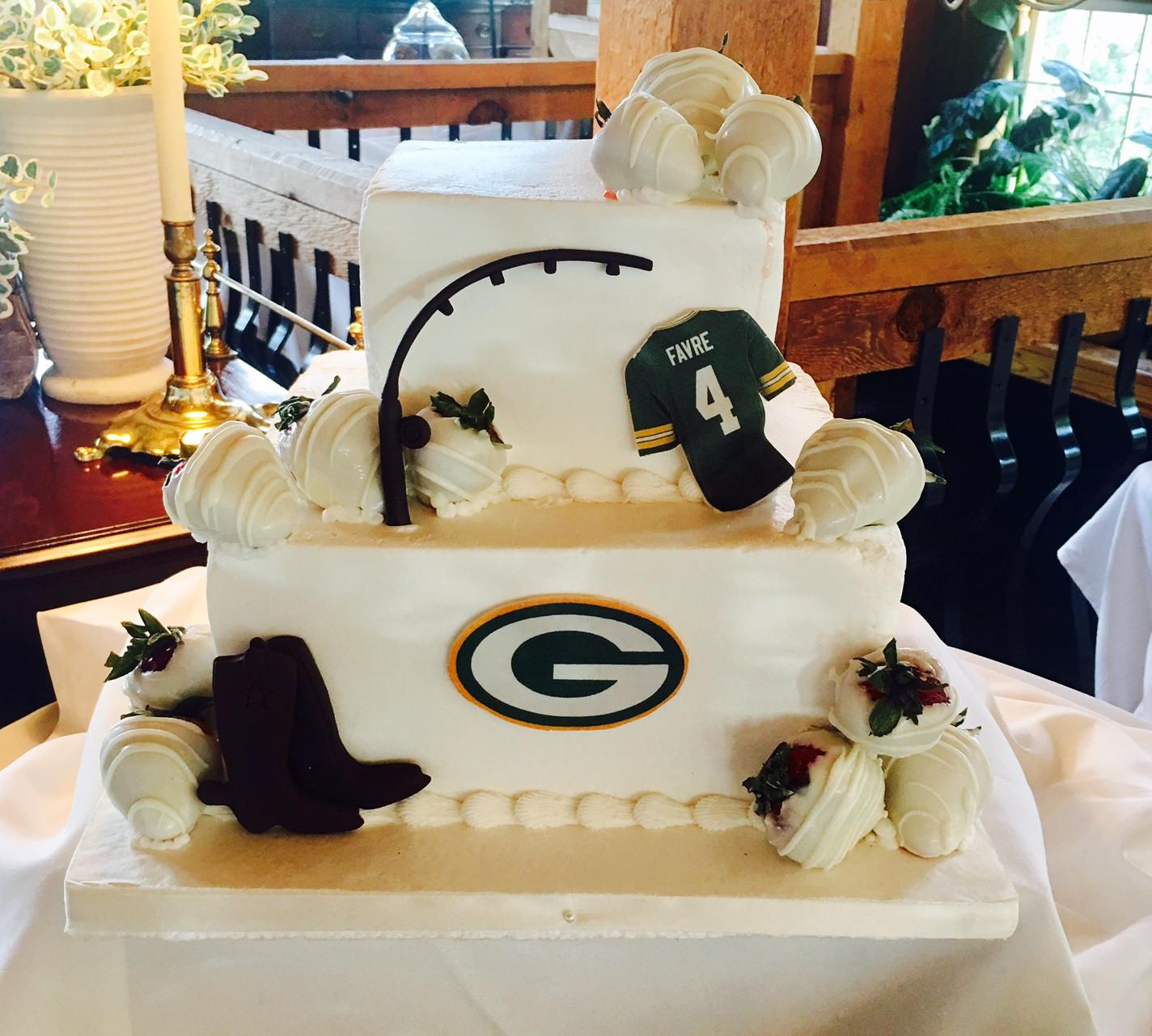 Green Bay Packers Groom\'s cake   Custom Cakes   Wedding Cakes   Atlanta