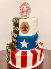 Eagle Scout Award Cake SO-002