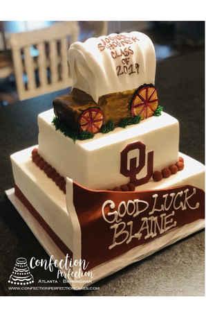 University of Oklahoma Graduation Cake GR-119
