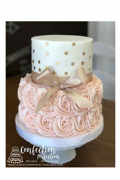 Rosettes with Gold Polka Dots BC-110