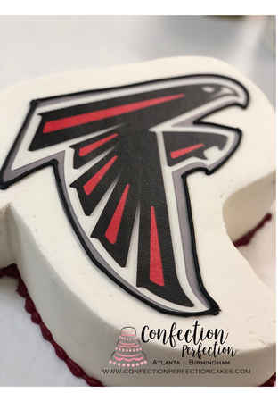 Atlanta Falcons Cake MB-105