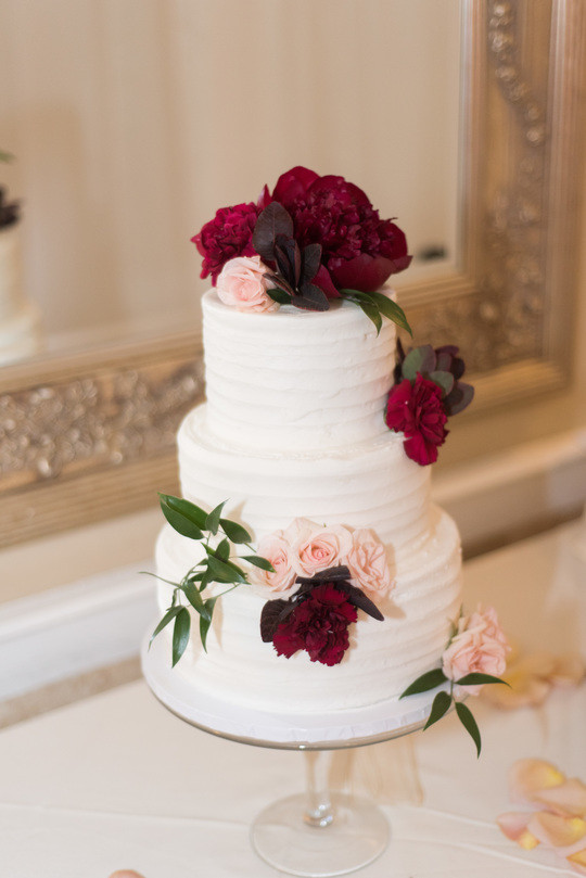Classic Rigid Buttercream Iced Wedding Cake With Fresh Floral Add Any Personal Touch Or Changes To Of Our Award Winning Designs