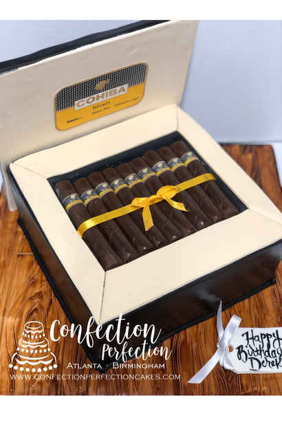 Cigar Box Cake MB-138