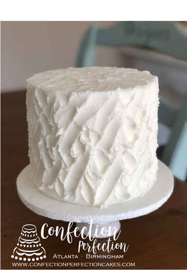 Messy Stucco Textured Buttercream Design  2GO-118