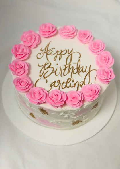 Rose Birthday Cake 2GO-112