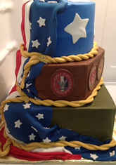 This cake is not available for online ordering at this time. Please fill out our Quote Request Form below for pricing.