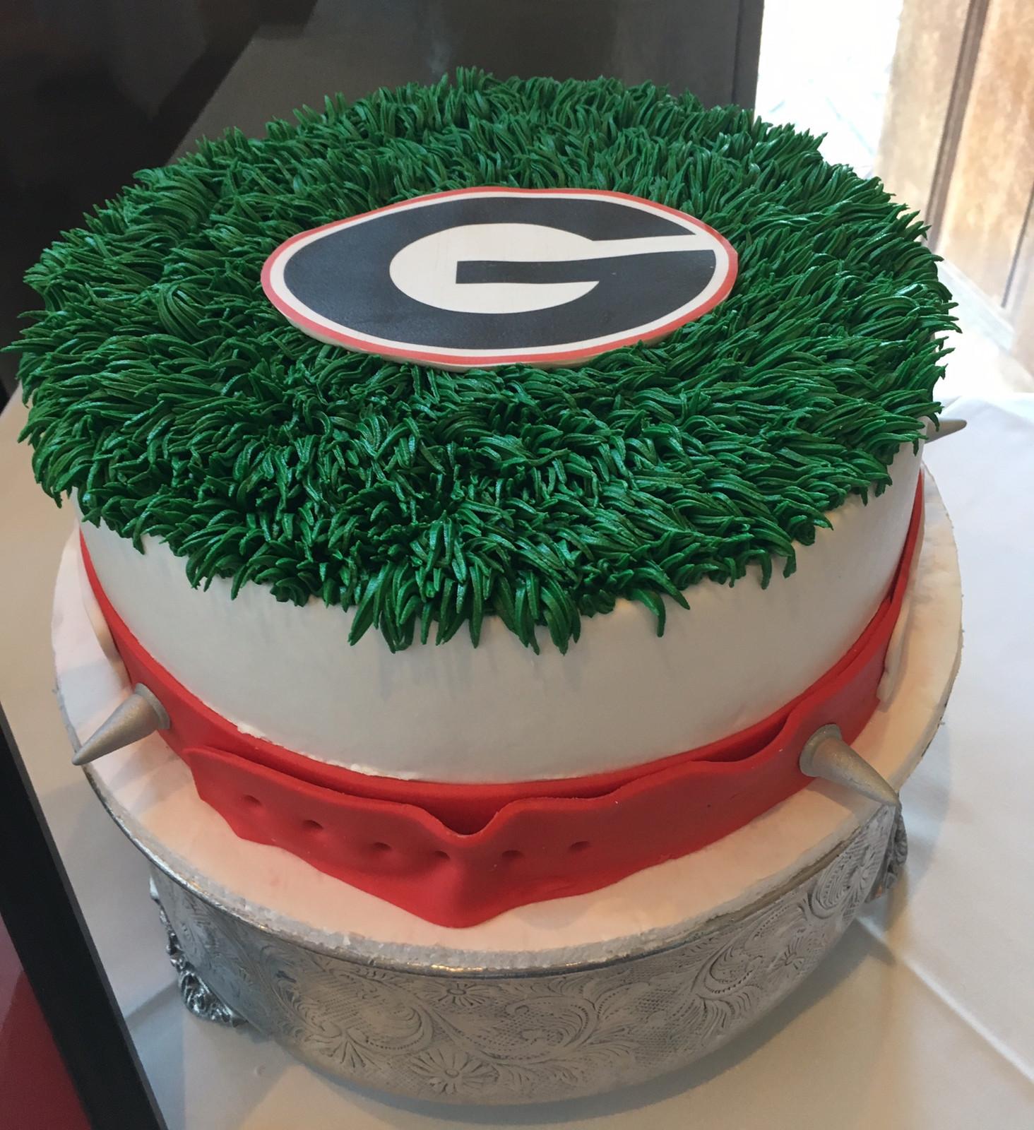 University of Georgia Cake Custom Cakes Wedding Cakes Atlanta