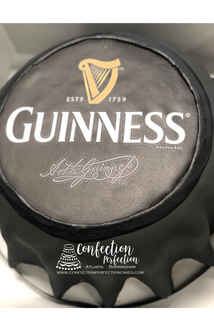 Guinness Beer Bottle Cap Cake MB-152