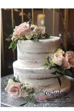 Barely Naked 2 Tier Cake FB-165