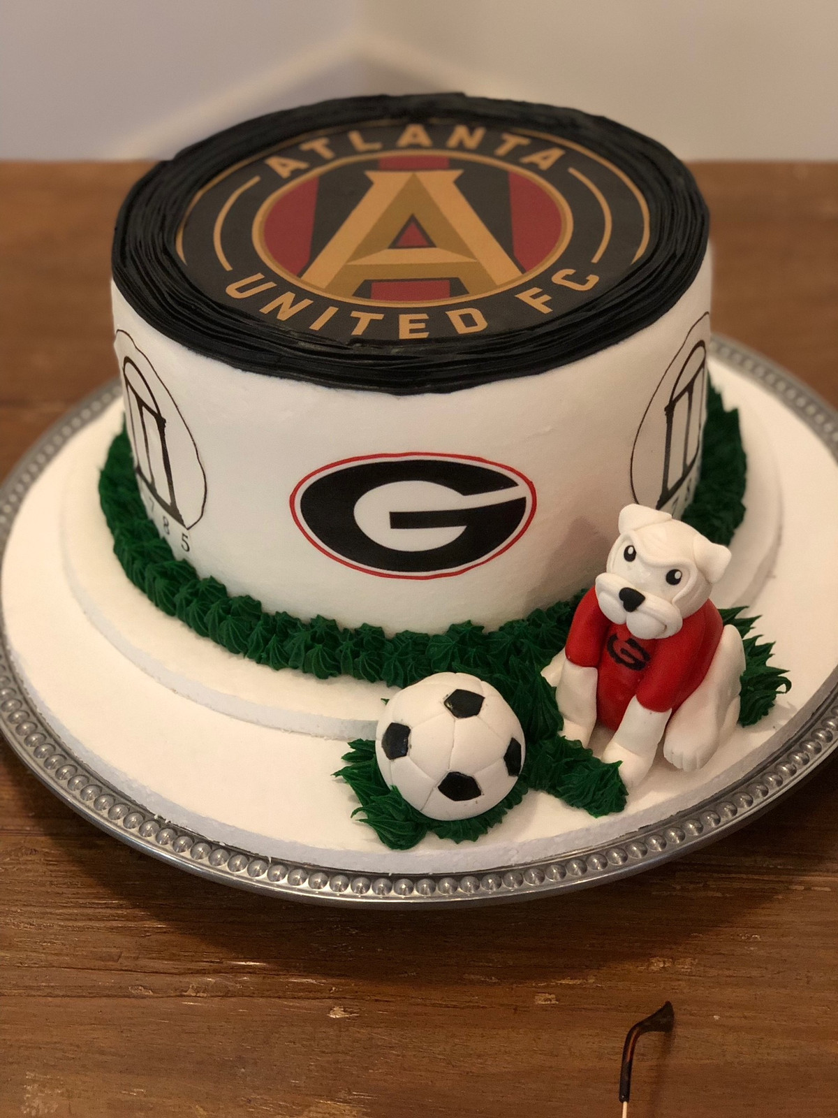 Atlanta Sports Themed Cake MB 134