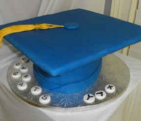 Graduation Cap Cake GR-107