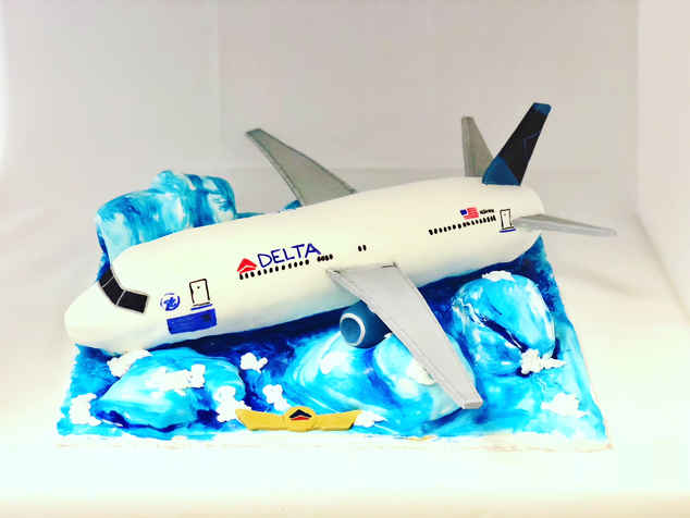 Airplane Cake  MB-131