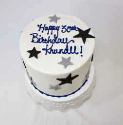 Star Themed Birthday Cake CBB-135