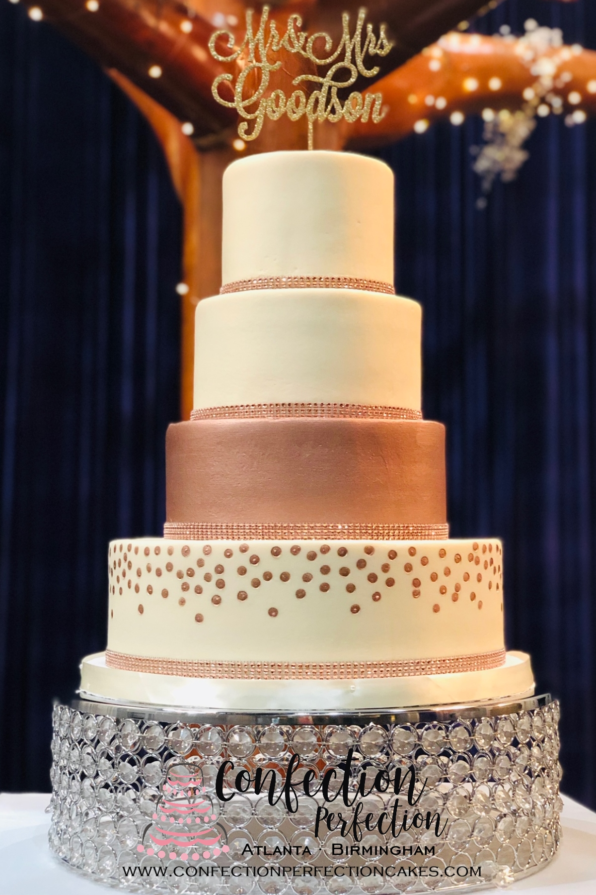 Wedding Cake Gallery | Confection Perfection | Atlanta