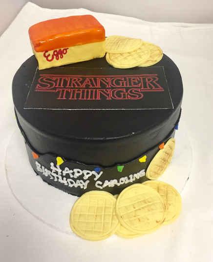 Stranger Things Cake CBG-215
