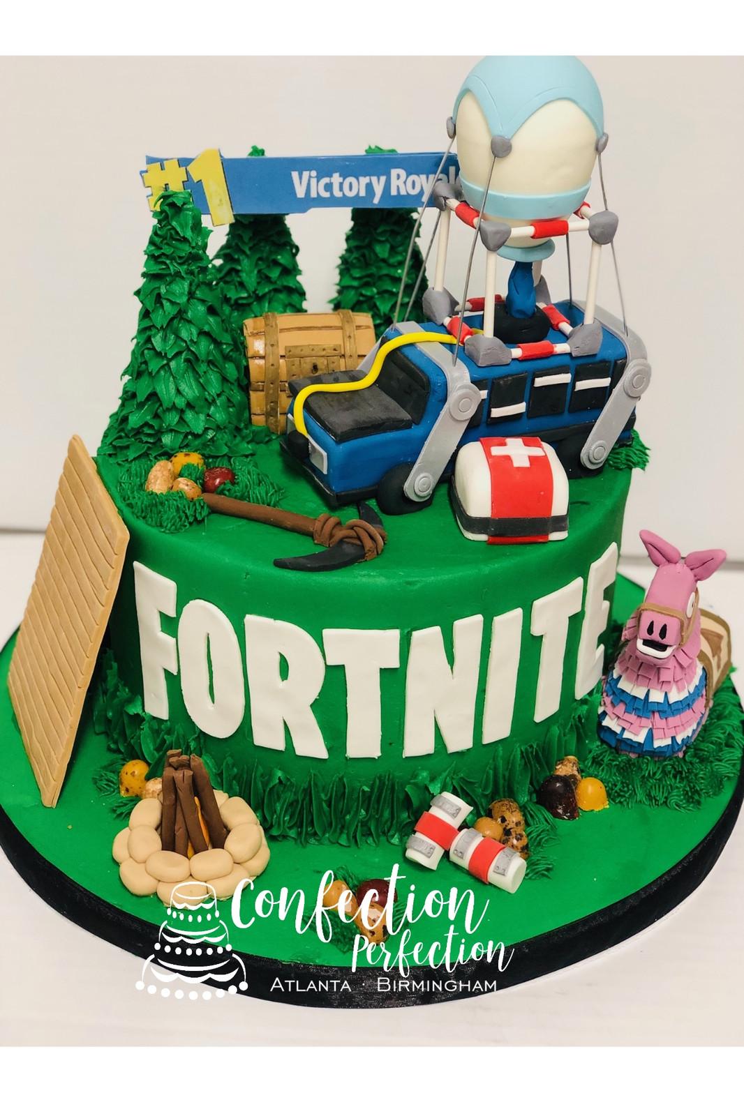 - fortnite fondant cake decorations