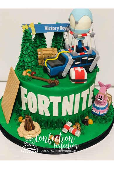 Fortnite Birthday Cake CBB-150