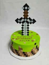 Minecraft Sword Cake CBB-106