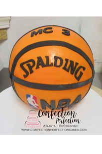 3D Basketball, Soccer Ball, Volleyball, Baseball or Tennis Ball Cake CBB-151