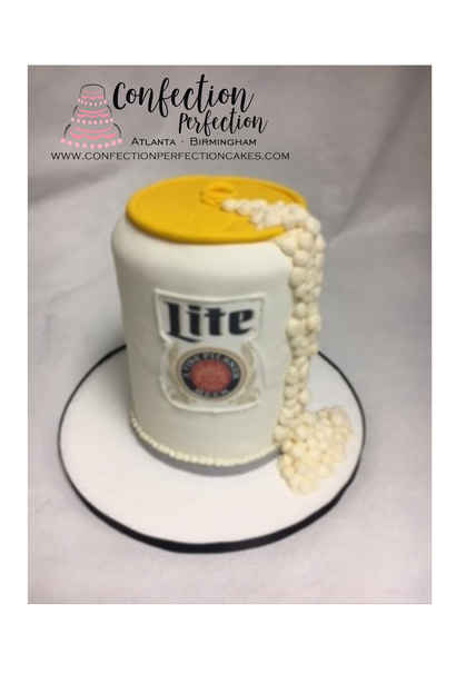 3D Miller Beer Can Cake MB-157
