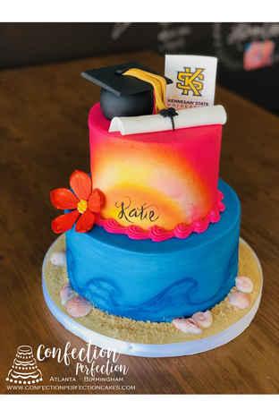 Fun In the Sun Graduation Cake GR-127