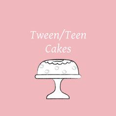 Tween & Teen Cakes
