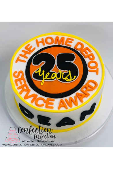 Home Depot Corporate Retirement Cake CC-116