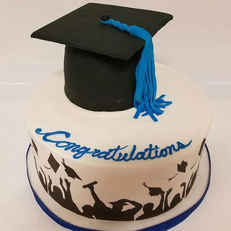 Graduation Cap Cake GR-110