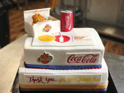 Church's Chicken & Coca-Cola Cake  CC-104