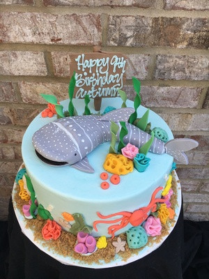 Incredible Ocean Birthday Cake Cbg 134 Personalised Birthday Cards Sponlily Jamesorg