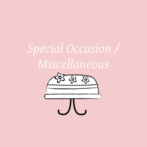 Special Occasion Miscellaneous Cakes
