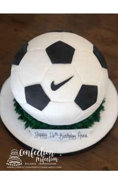 3D Soccer Ball Cake CBB-171