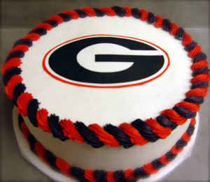 Georgia Logo Groom's cake