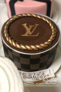 Louis Vuitton Inspired Cake FB-126