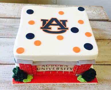 Auburn University Cake MB-114